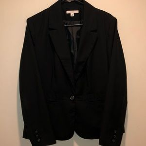 Merona black blazer jacket